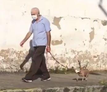 O caso ocorreu em Arapiraca, no estado de Alagoas. O homem contou que fez isso como uma forma de chamar a atenção para a prevenção